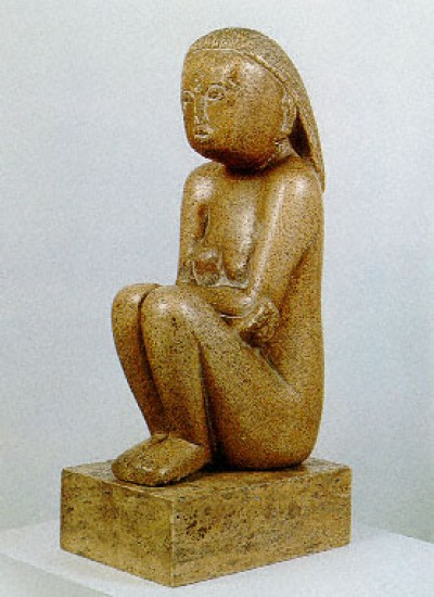 Brancusi Constantin Wisdom of the Earth,