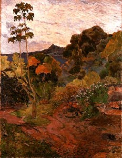 Gauguin Paul  Vegetazione tropicale