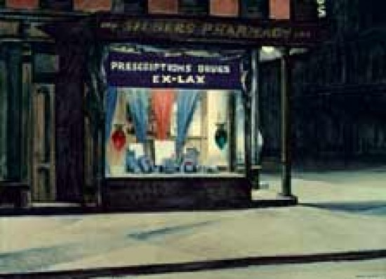 Hopper Edward  Drug Store