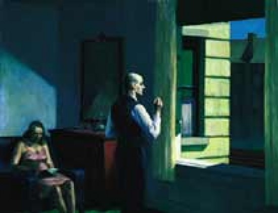 Hopper Edward Hotel by a Railroad