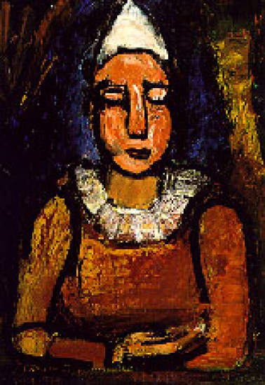 Rouault Georges The Clown, 1918-22