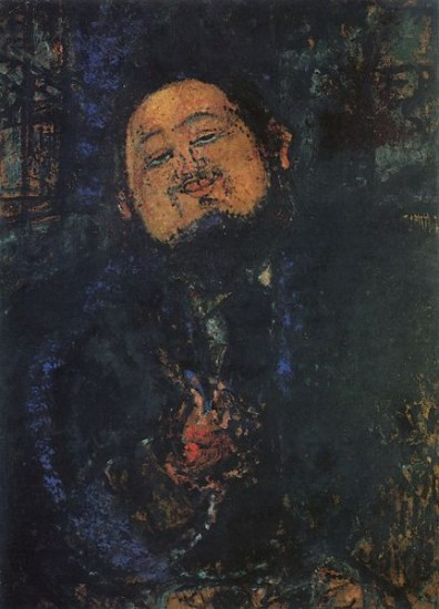 Modigliani Amedeo Portrait of Diego Rivera