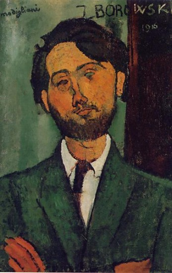 Modigliani Amedeo Portrait of Leopold Zborowski