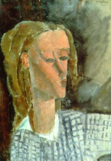 Modigliani  Amedeo  Portrait of Beatrice Hastings
