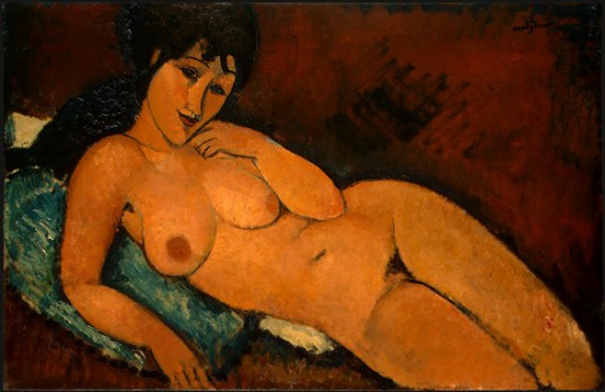 Modigliani Amedeo  Nudo