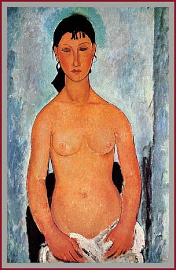 Modigliani Amedeo Elvira Nuda