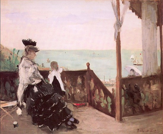 Morisot Berthe   In a Villa at the Seaside