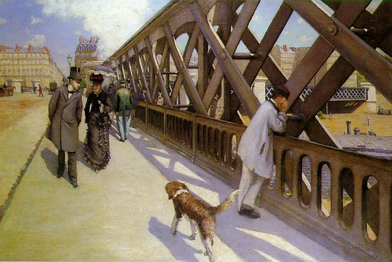 Caillebotte, Gustave Il ponte d'Europa