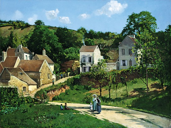 Pissaro Camille The Hermitage at Pontoise,