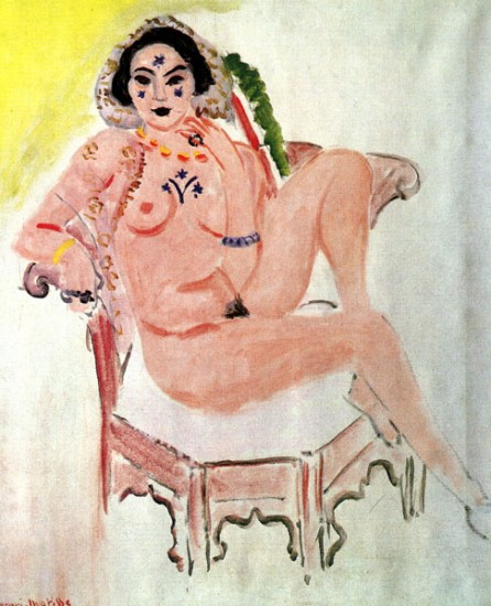 Matisse Henri Persian Woman with Painted Crosses,