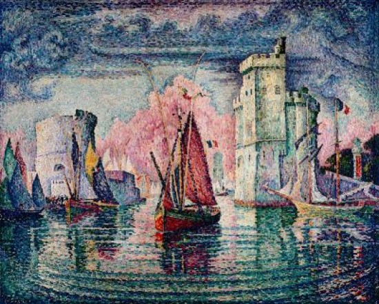 Signac Paul Port of La Rochelle