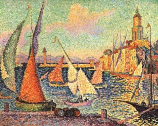 Signac Paul Port St. Tropez  1899.
