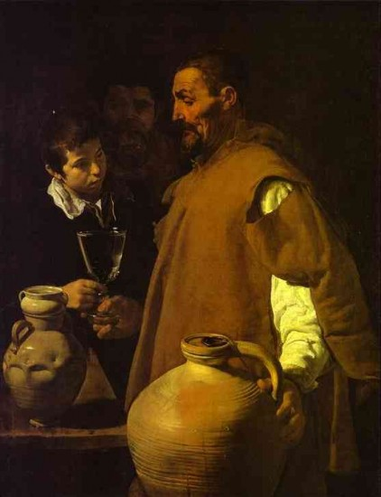 Velazquez  The Waterseller