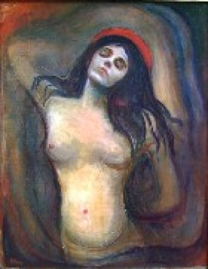 Munch Edward  Madonna