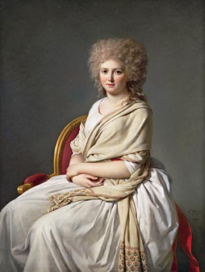 Jacques-Louis David  Portrait d'Anne-Marie-Louise Thélusson, comtesse de Sorcy