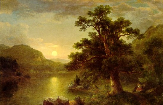 Durand  Asher Brown The Trysting Tree,