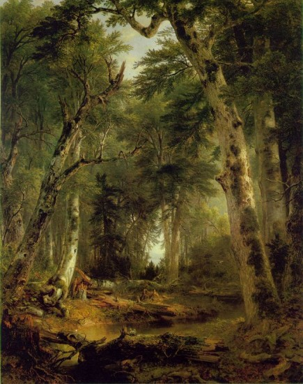 Durand,  Asher In the Woods