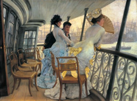 Tissot James The Gallery of HMS Calcutta