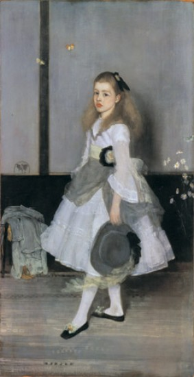 Whistler James Abbott McNeill Harmony in Grey and Green: Miss Cicely Alexander