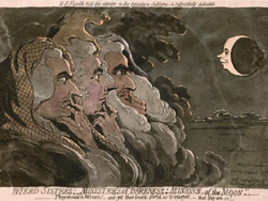 James Gillray Wierd Sisters; Ministers of Darkness;