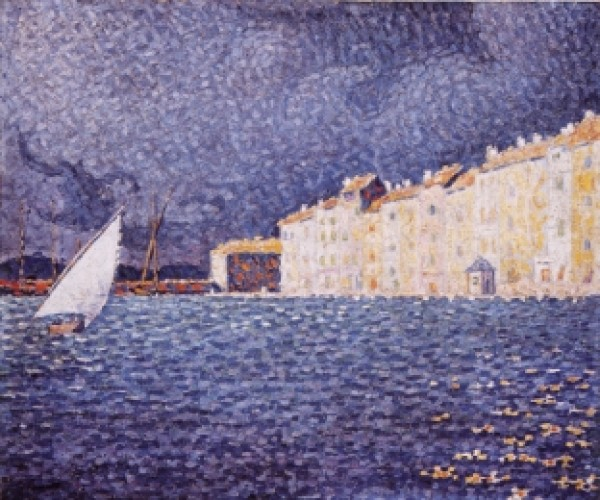 Paul Signac, Saint-Tropez. Temporale,