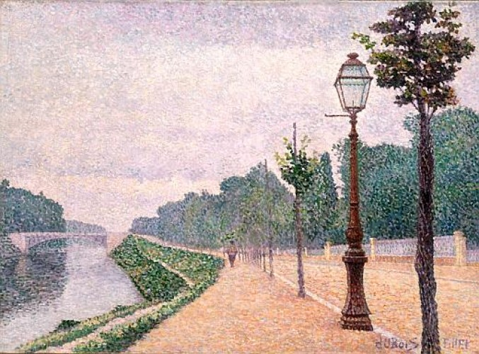 Albert Dubois-Pillet Les Bords de Seine à NeuillyLe
