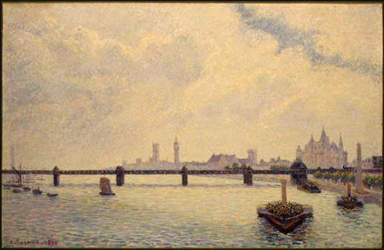 Pissaro  Camille  Charing Cross Bridge, London