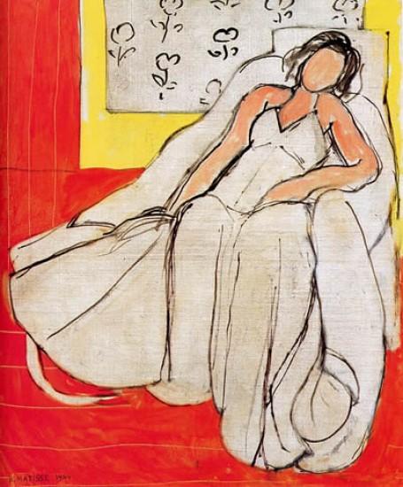 Henri Matisse - Giovane donna in una camicetta blu