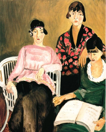 Matisse henri  The Three Sisters,