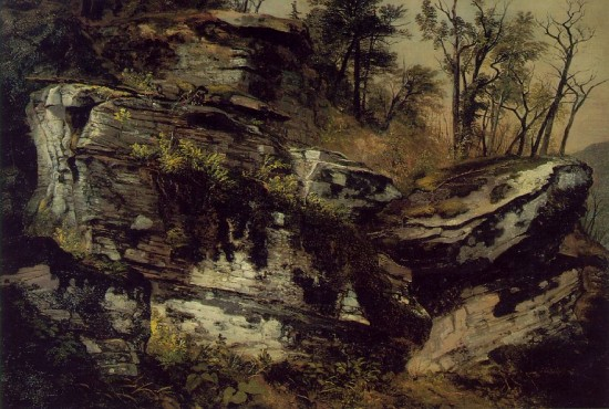 Durand, Asher  Rocky Cliff